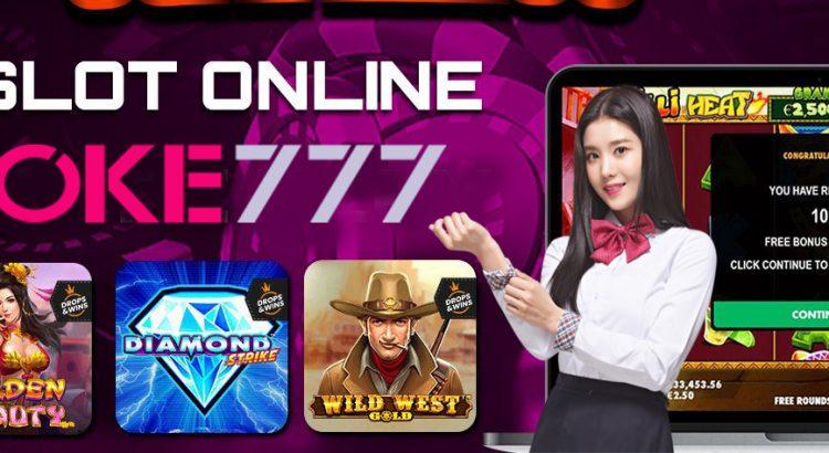 Raih kemenangan slot online